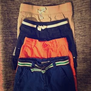 Other - 4 pairs toddler boy shorts 18m
